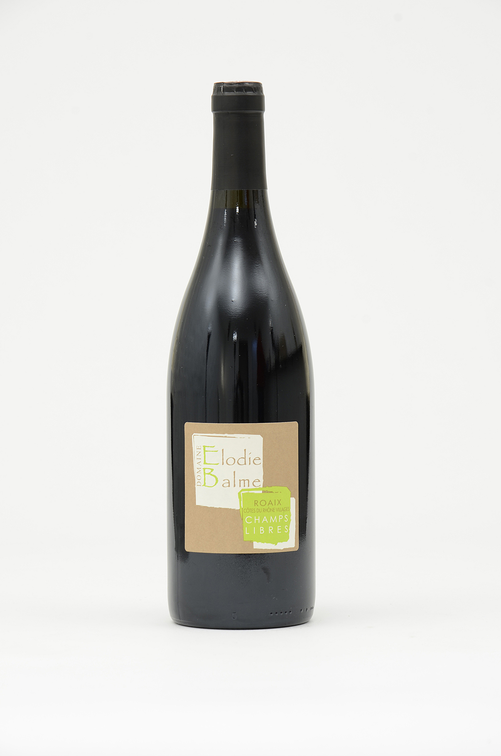 CDR Villages - Roaix Elodie Balme Champs Libre 2015 75 cl Rouge